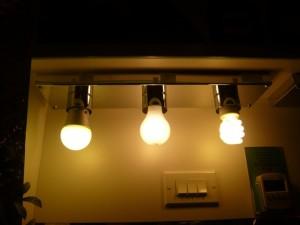 material de iluminación.